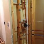 rough in plumbing complete