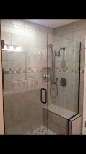 Custom tile Shower laticete grout Columbia mo certified installer