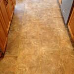tile floor complete