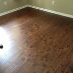laminate floor installed