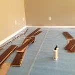 engineered floating floor layout