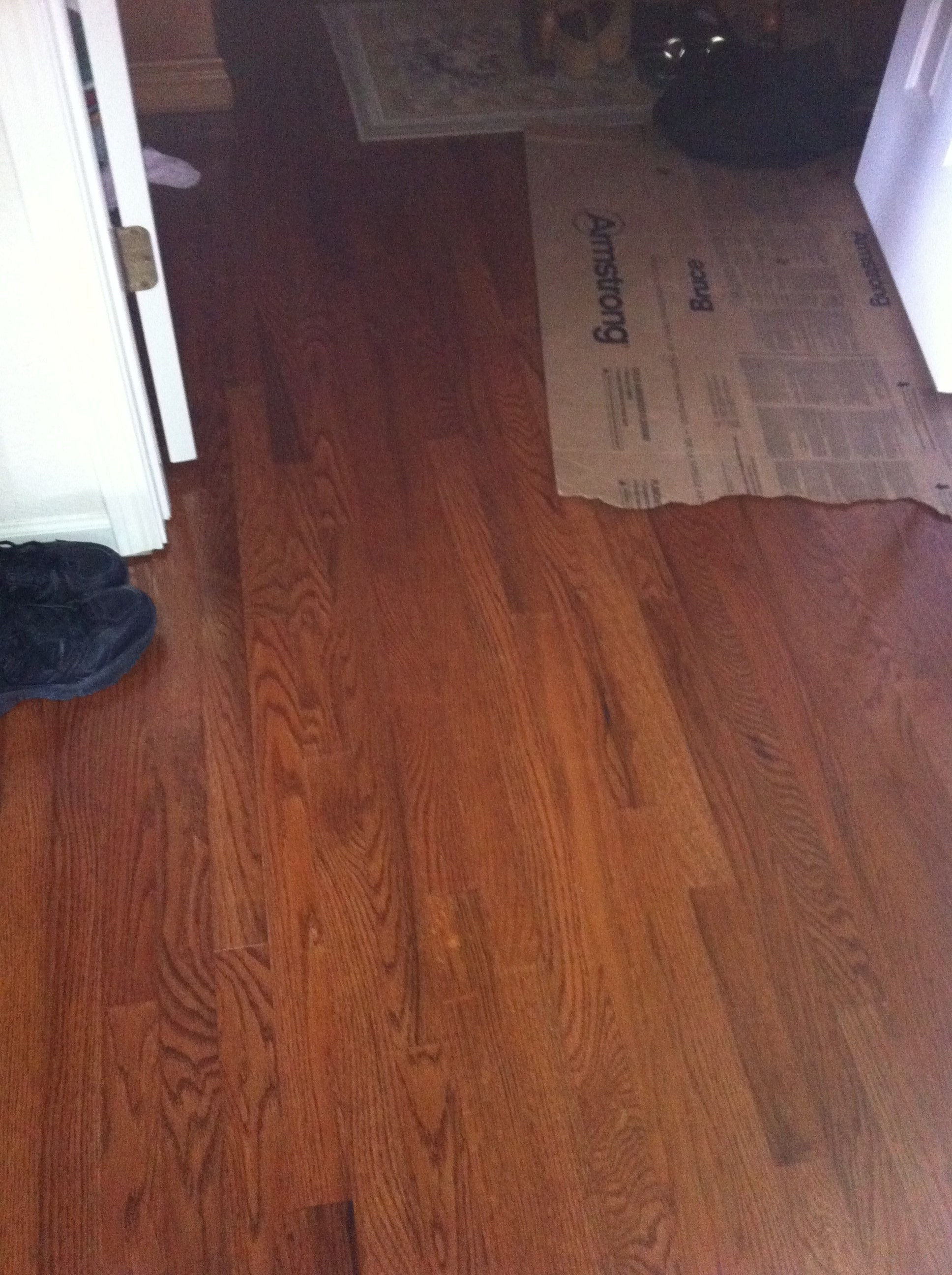Hardwood Floor laced into existing floor