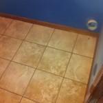 Pozzalo Coastal Beige Tile with TEC Accucolor XT Light buff grout