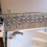 Columbia Missouri Custom tile installation jetted tub surround