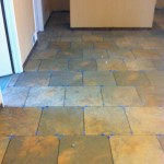 "Fransican Slate Woodland Verde 18"" x 18"" with Brick Pattern"