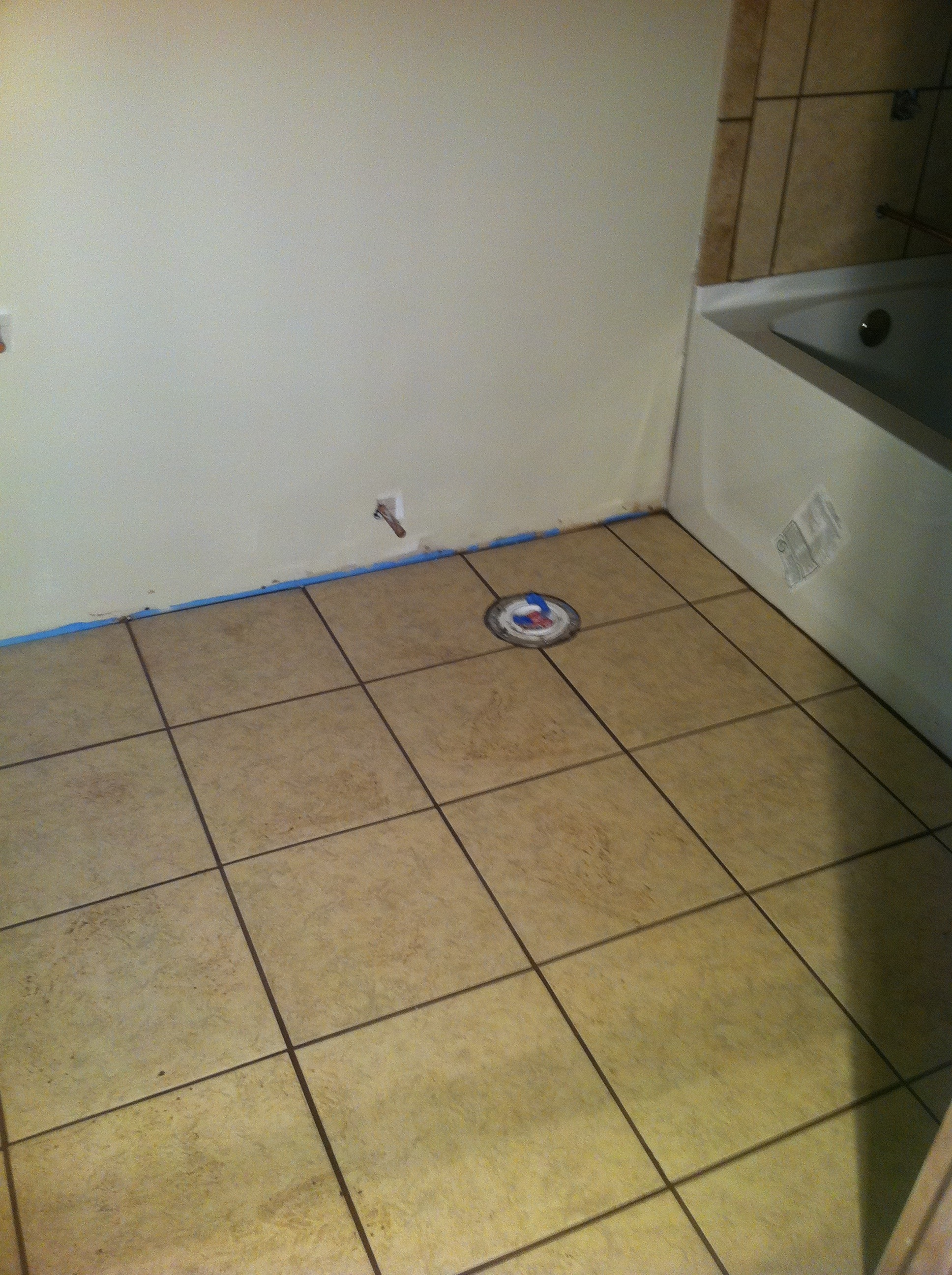 basement bath floor columbia missouri bathroom remodel tile shower