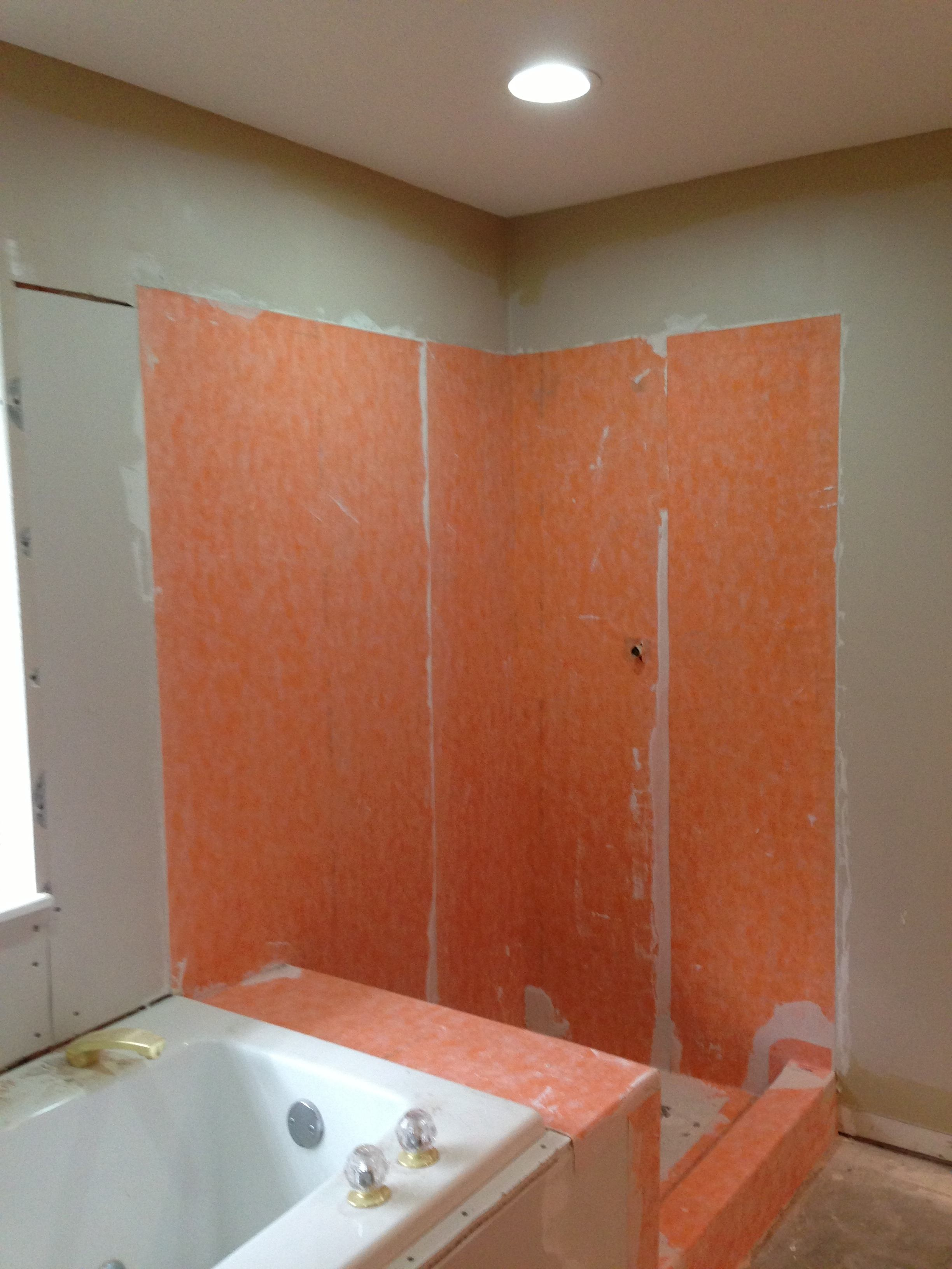 Columbia Missouri Waterproofed shower Kerdi